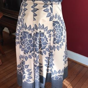 Talbot Silk and Cotton Skirt